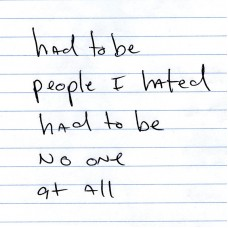 No One At All